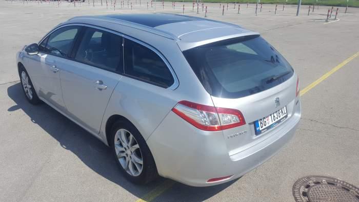 Peugeot 508 Station Wagon Rent a car