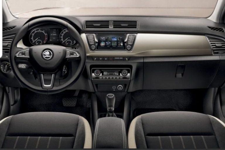 Škoda Fabia rent a car 1